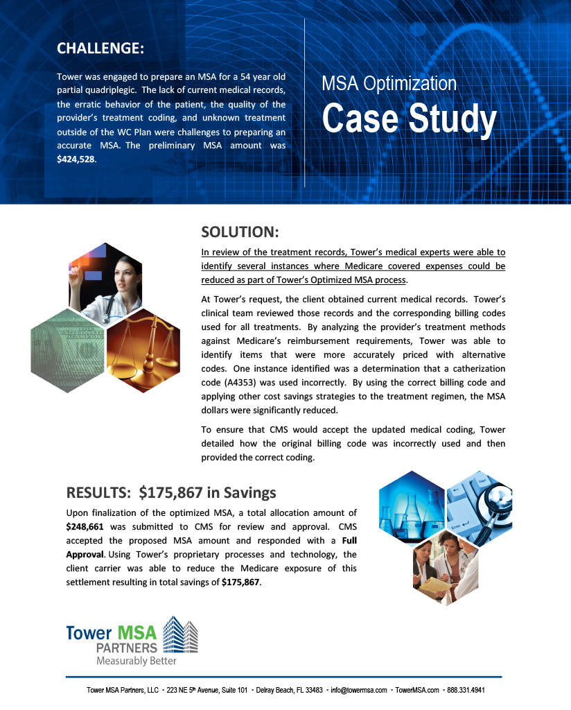 MSA Optimization Case Study